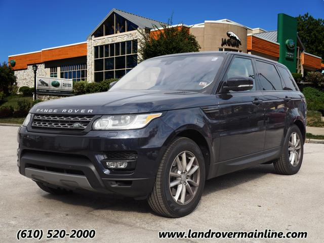 new 2016 land rover range rover sport se td6 awd se td6 4dr suv in wayne rh9165 land rover. Black Bedroom Furniture Sets. Home Design Ideas