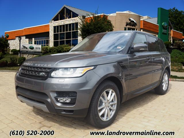 new 2016 land rover range rover sport se td6 awd se td6 4dr suv in wayne rh9198 land rover. Black Bedroom Furniture Sets. Home Design Ideas