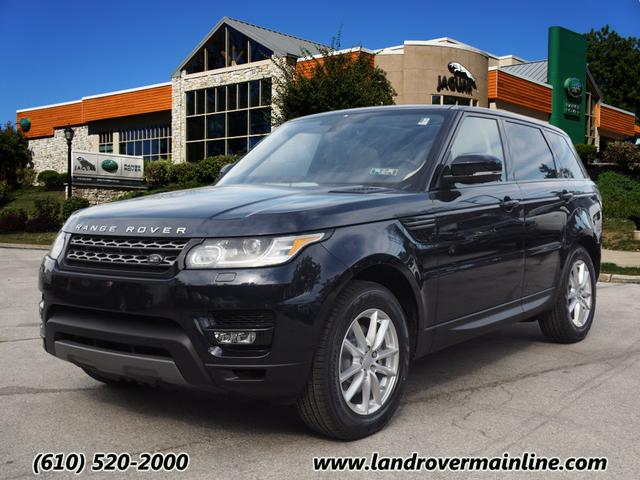 new 2016 land rover range rover sport se awd se 4dr suv in wayne rh9249 land rover main line. Black Bedroom Furniture Sets. Home Design Ideas